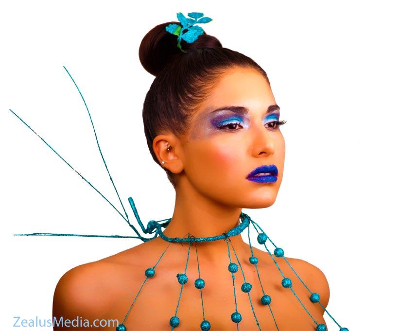 Nikki - Creative makeup by Renee - (C) ZealusMedia.com